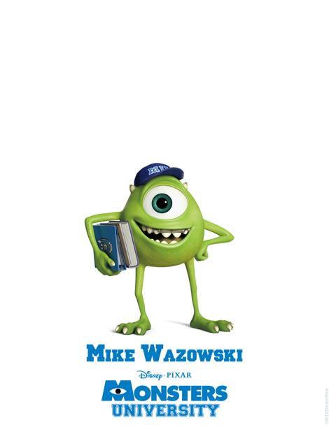 Universidade-Monstros-Mike-Wazowski-poster