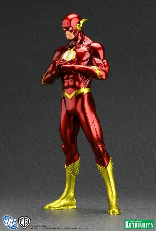 Kotobukiya-ArtFX-New-52-Flash-1