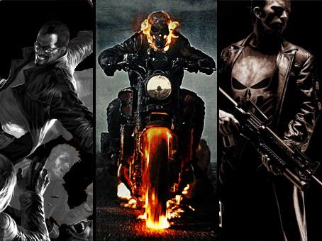Blade, gost, punisher