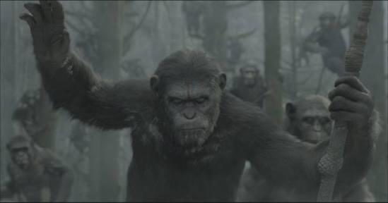 Imagem tirada da cena final do clip exibido na Comic-Con.