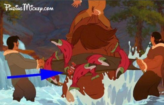 """Nemo aparecendo em """"Irmão Urso"""" (engraçado é que ambos são de 2003...)"""