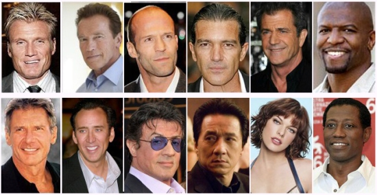 O Dream Team de Stallone!