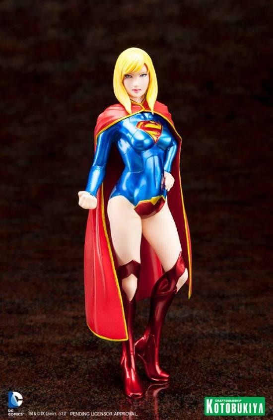 Supergirl, disponível em janeiro de 2014.