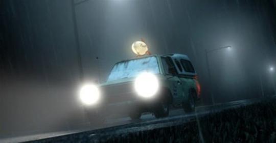 """A camionete amarela aparece novamente em """"Toy Story 3"""" (2010). Os brinquedos pegam carona no carro quando tentam voltar ao Sunnysite Daycare."""