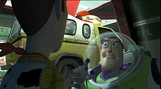 """Sua primeira aparição foi em """"Toy Story""""!"""