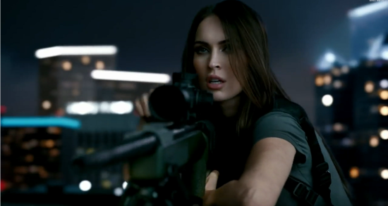 cod ghosts - megan fox