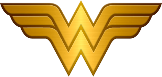 metalic_wonder_woman_logo_request_by_kalel7-d6h6uaf