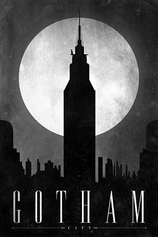 retro-poster-gotham-city