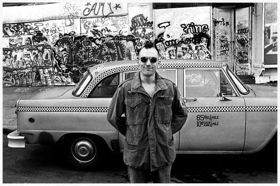 Taxi Driver Foto Steve Shapiro 1976