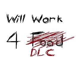 Na imagem: Trabalho por comi... DLC
